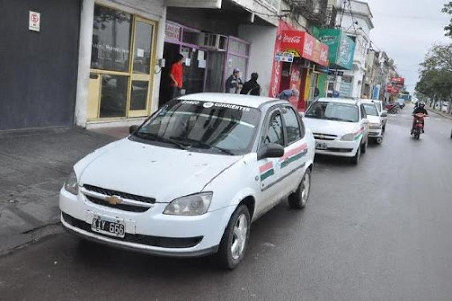 Remises Chaco- Corrientes insisten en volver a trabajar