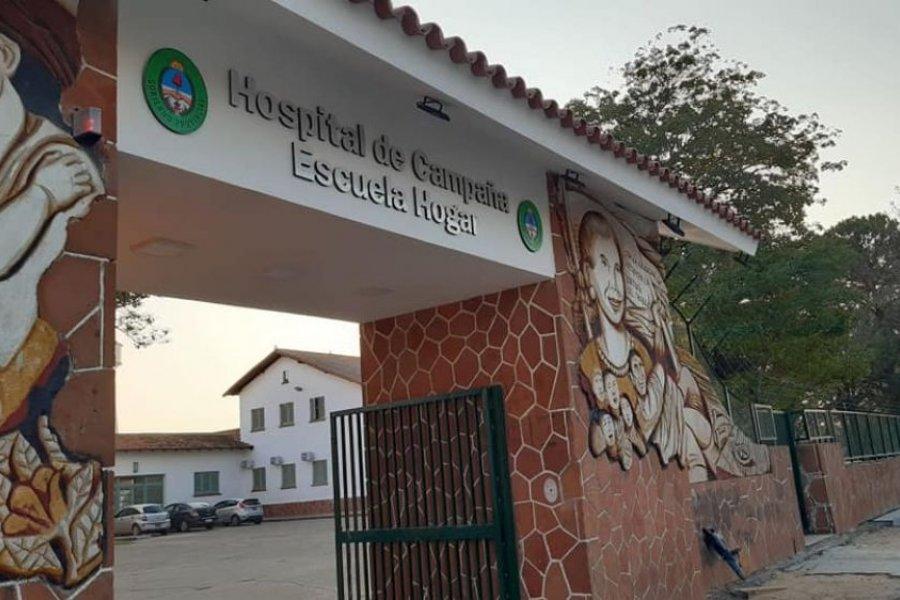 Dos personas murieron por Coronavirus en el Hospital de Campaña