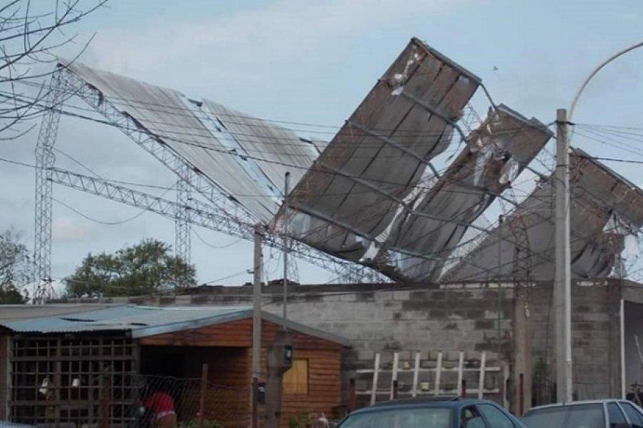 Temporal: Santa Lucía seguirá sin luz hasta el martes