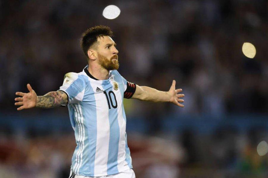 Messi prestará su avión privado para llevar convocados de Argentina
