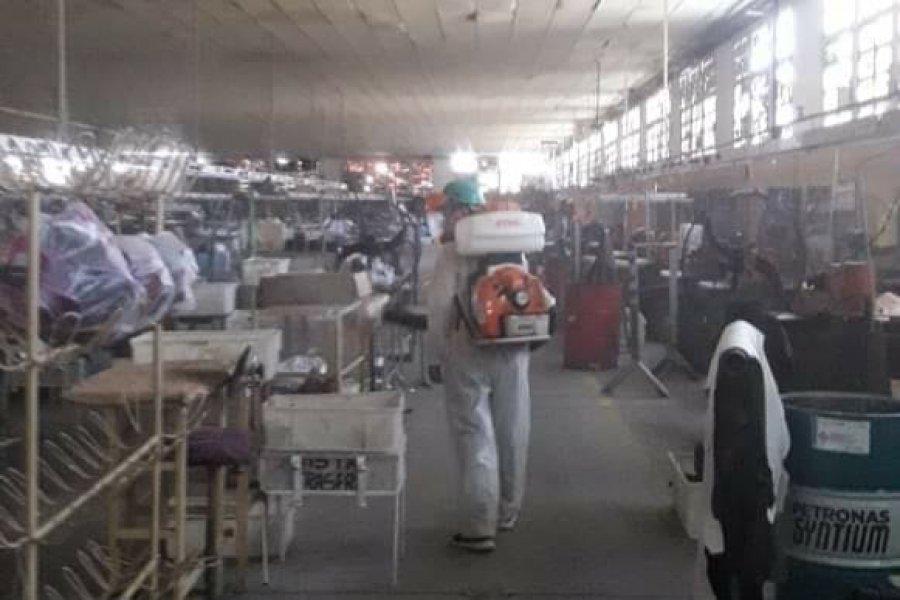 Coronavirus: Desinfectaron la fábrica UTRASA y continúan los testeos en San Luis del Palmar