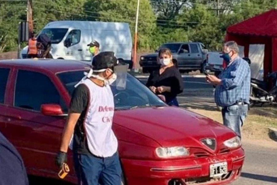 Restringen actividades y multiplican los hisopados en San Luis del Palmar