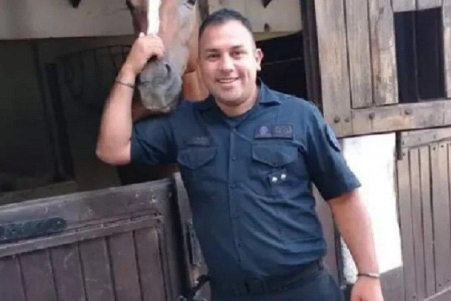 El Gobierno decretó un día de duelo nacional por el asesinato del policía en Barrio Parque