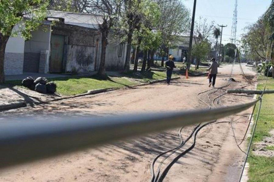 Santa Lucía recupera el servicio de energía tras el temporal