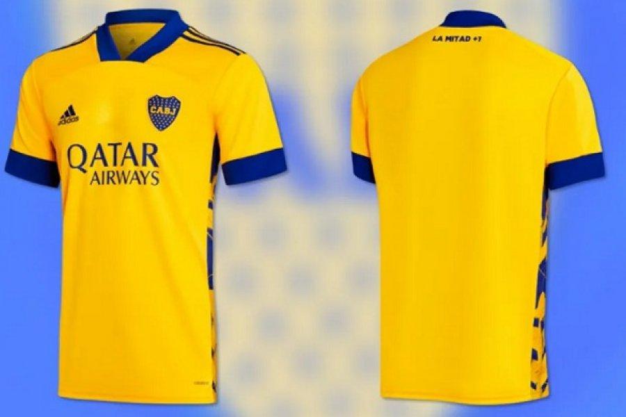 Boca presentó oficialmente su nueva camiseta en homenaje a La Bombonera