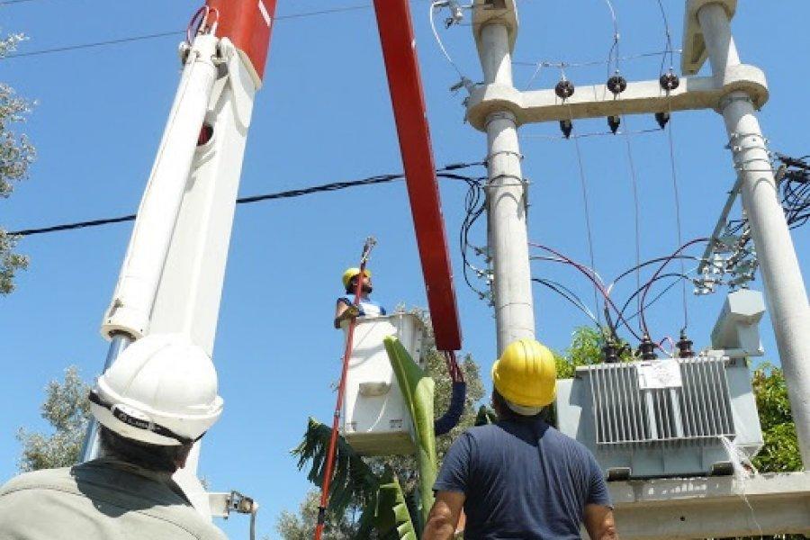 Jueves con cortes de energía en Curuzú Cuatiá