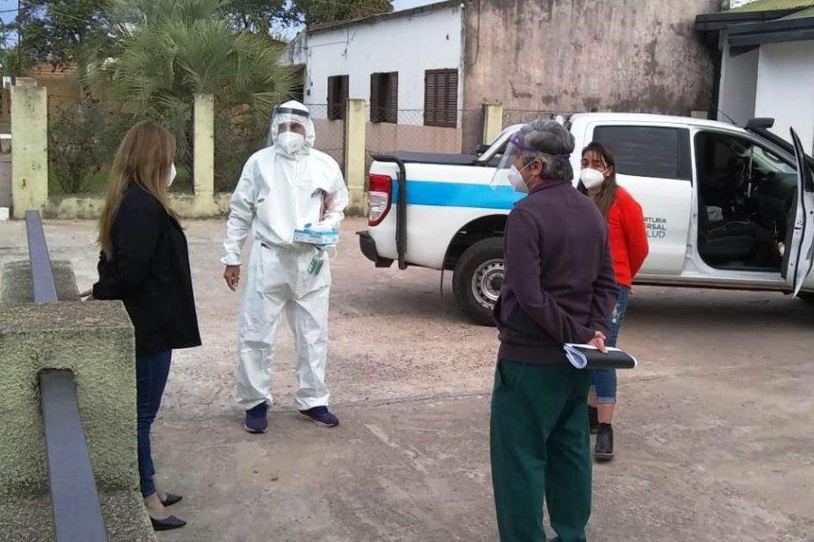 Coronavirus: En San Roque realizaron más de 1100 hisopados
