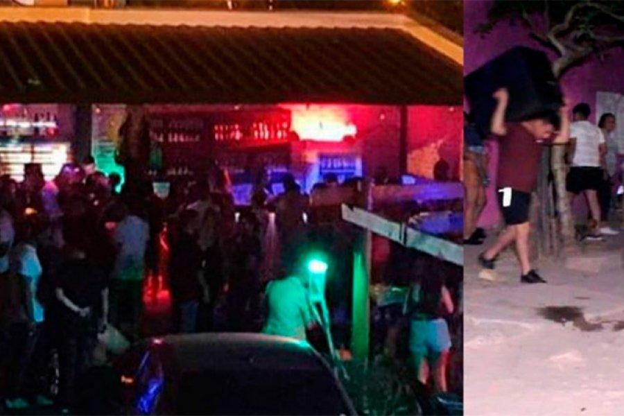 Desbarataron una fiesta clandestina con más de 1.500 personas en Chaco