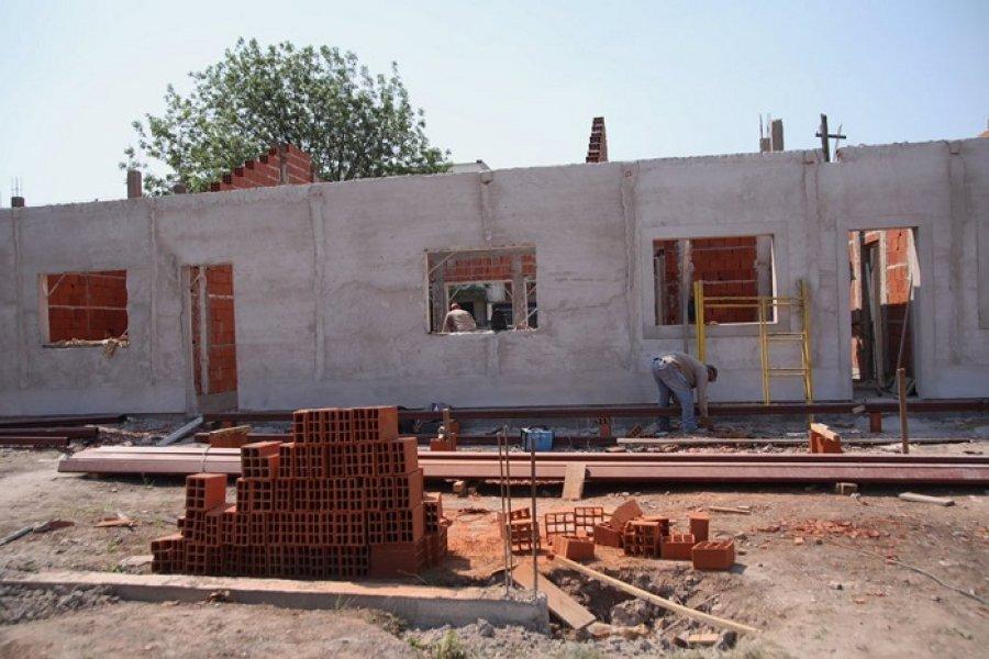 Avanza la construcción de la Comisaría Sexta
