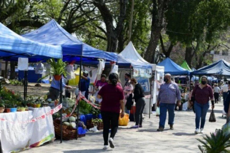 Ferias de la Ciudad, en las plazas Torrent y Evita