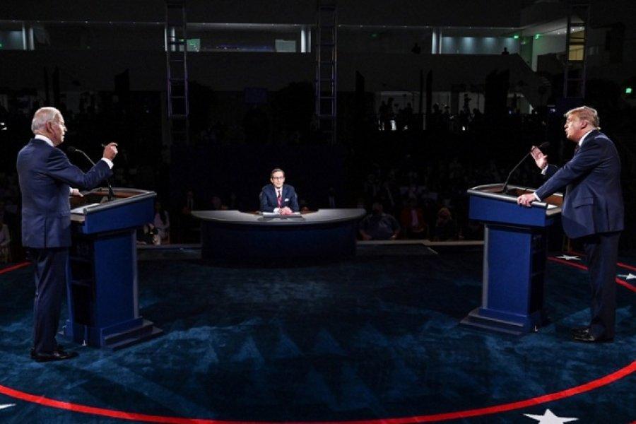 Debate presidencial en EE.UU.: Trump y Biden se cruzan por la pandemia de coronavirus