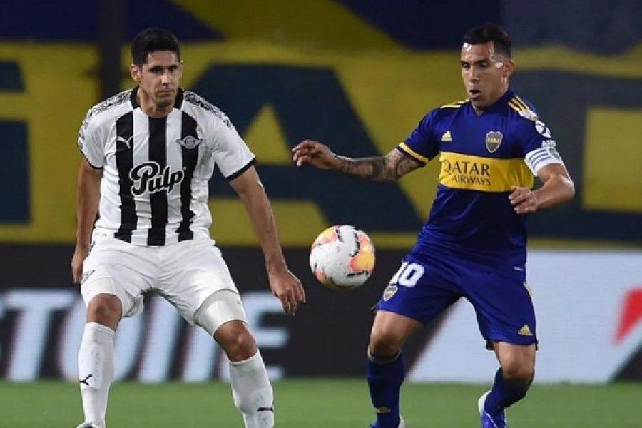 Boca empató con Libertad y se metió en los octavos de la Copa Libertadores