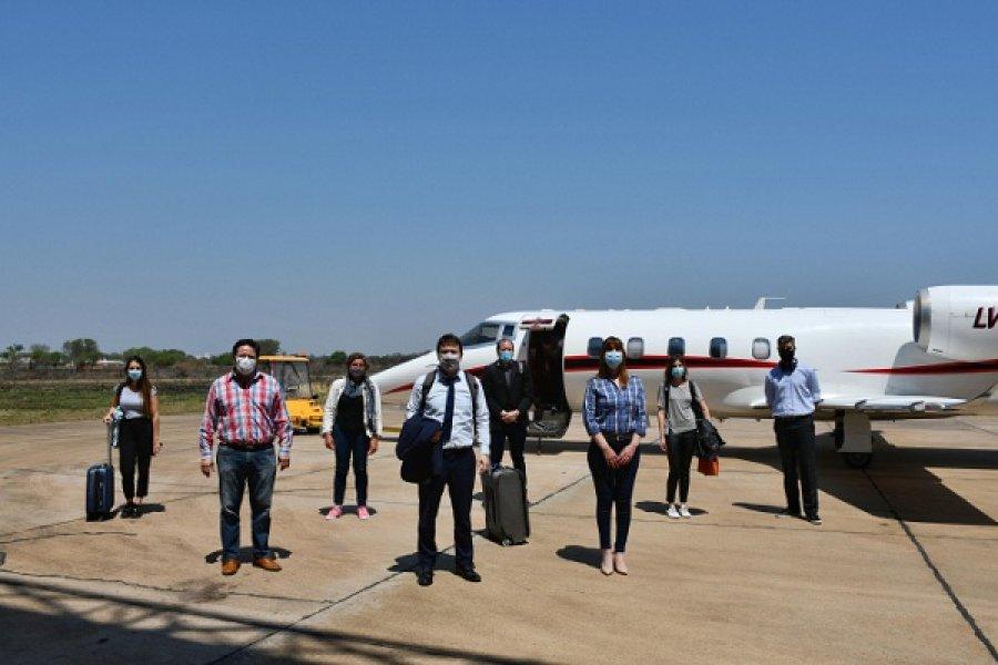 Una comitiva sanitaria nacional llegó a Chaco para trabajar sobre estrategias territoriales