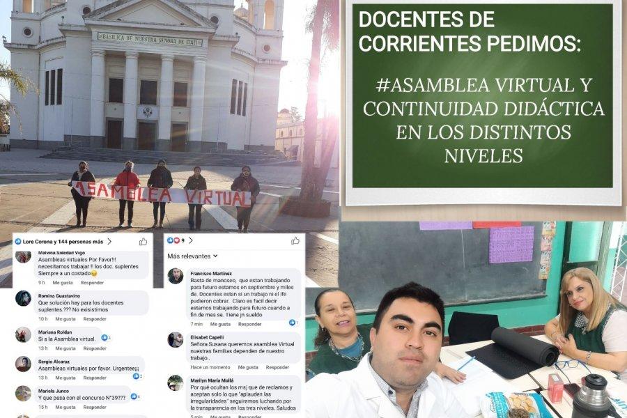 Corrientes: Desesperante situación de Docentes suplentes