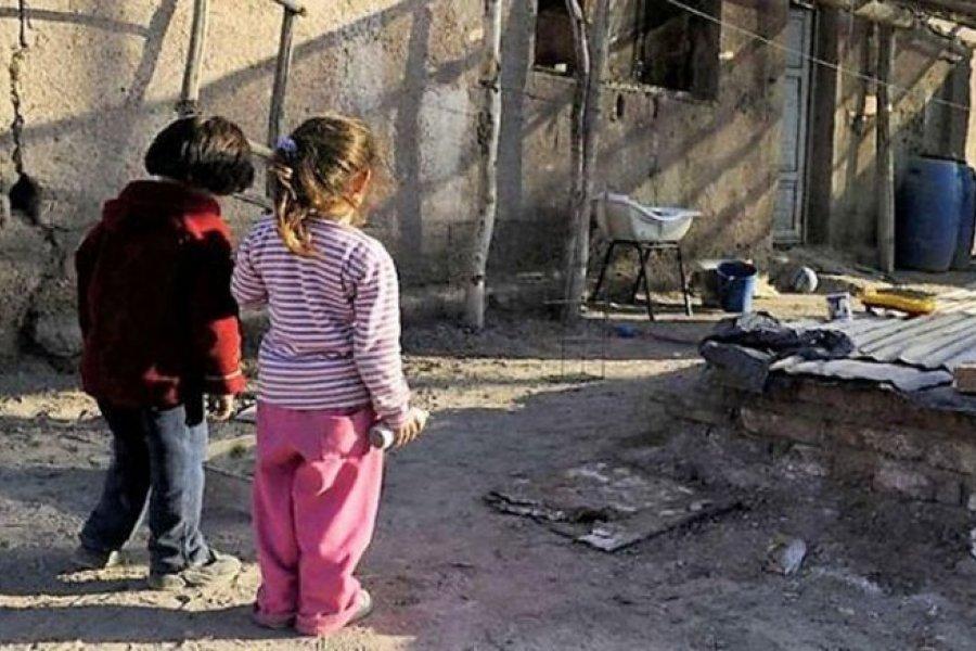 Creció la pobreza en Corrientes, es del 41, 2%