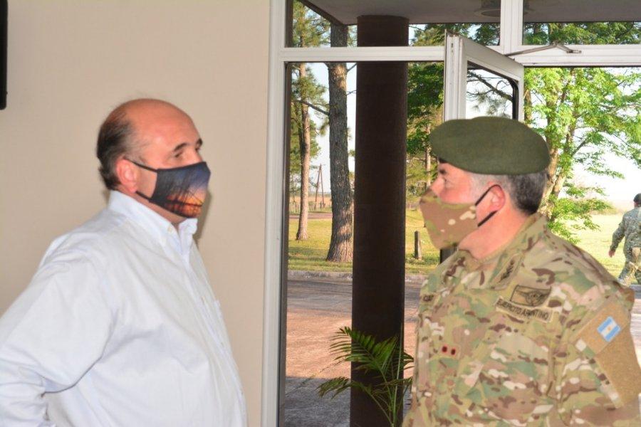 El intendente se reunió con el jefe del estado mayor General del Ejército Argentino