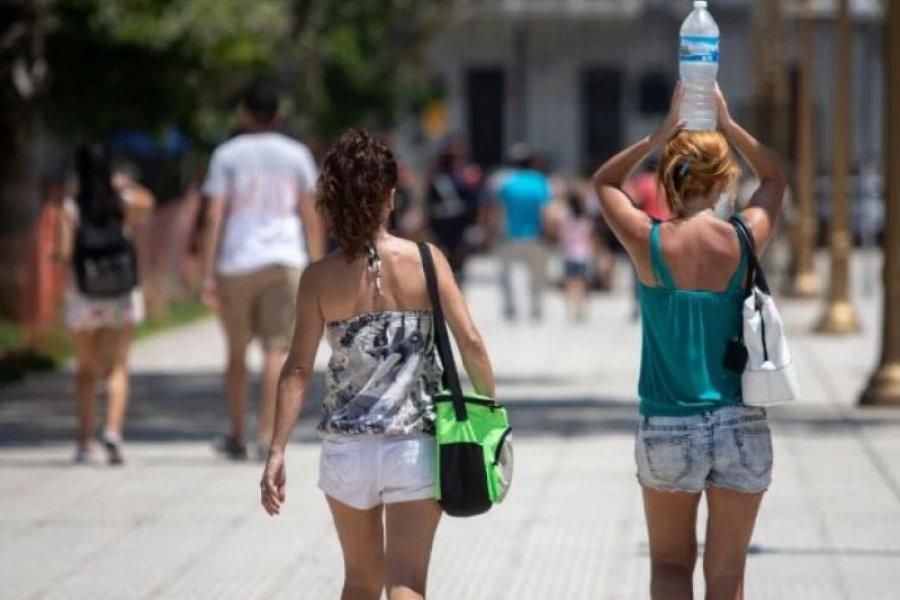 Con casi 43º, Corrientes es la tercer ciudad más calurosa del país