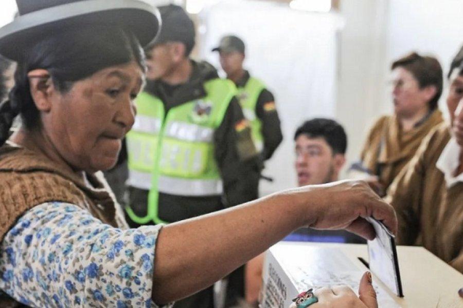 El Gobierno estableció el protocolo sanitario para votar en las elecciones presidenciales de Bolivia