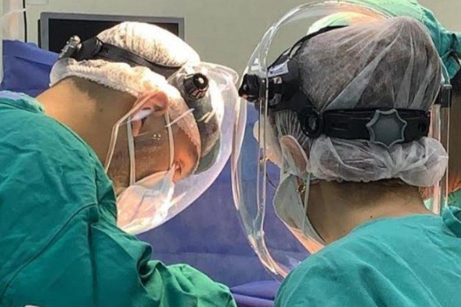 Se realizó el primer operativo de ablación en el hospital de Virasoro