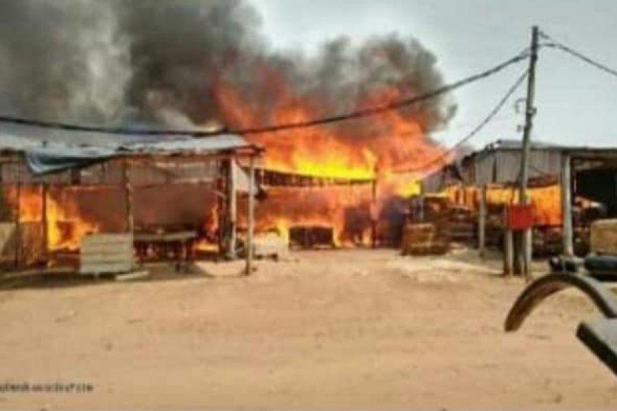 El fuego no da tregua: más de una decena de focos de incendios en la provincia