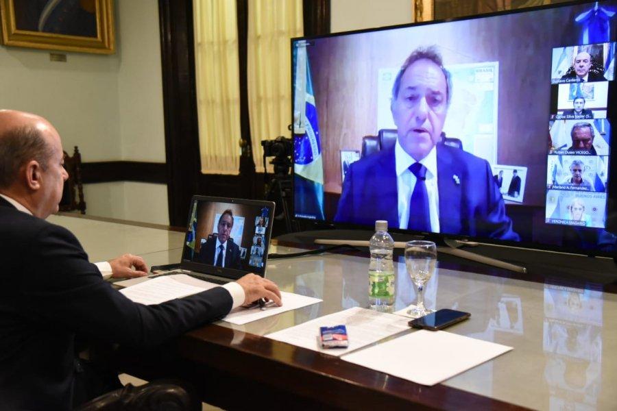 """Vicegobernadores se reunieron con Scioli: """"Queremos poner de pie al país"""""""