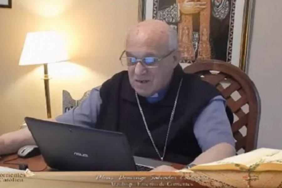 Monseñor Castagna: Preceptos humanos versus mandamiento de Dios