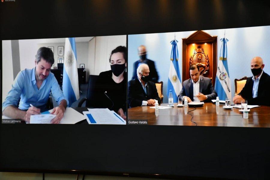 Corrientes firmó Convenio con el Ministerio de Turismo de la Nación