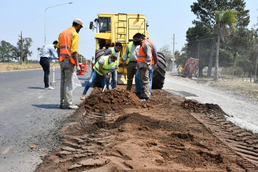 Iniciaron las obras para el ensanchamiento de Ruta 5