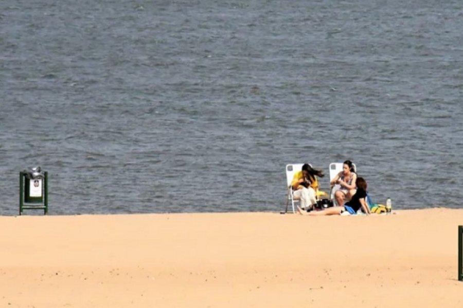 Las solicitudes de permisos para playas no superaron la mitad de los cupos