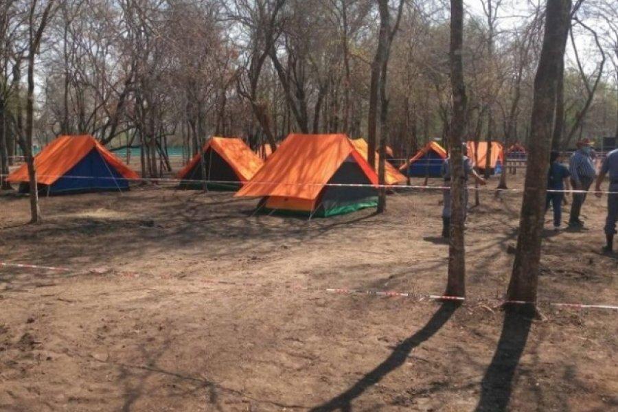 Formosa: Cerca de 100 aborígenes están confinados en el monte con carpas haciendo cuarentena