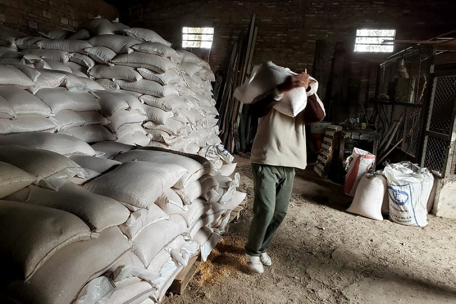 Entregaron asistencia a pequeños productores de Goya