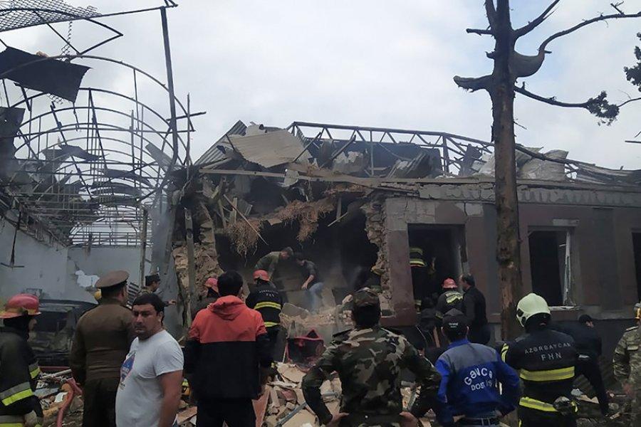 Se intensifican los bombardeos entre Azerbaiyán y Armenia