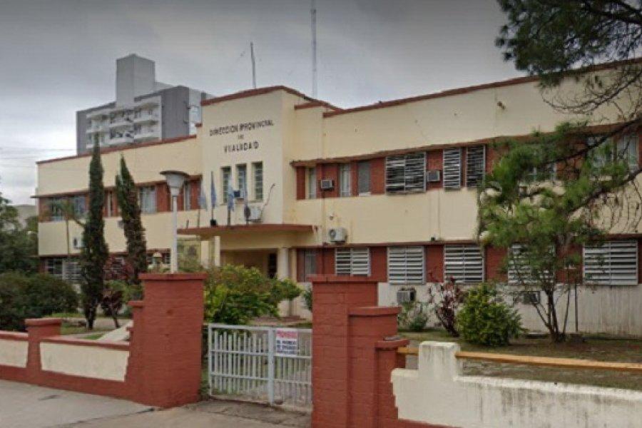 Confirman un caso positivo de Covid en Vialidad Provincial