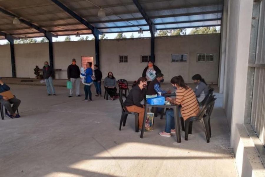 Regularización Dominial: Censan a 35 nuevas familias en Tres de Abril