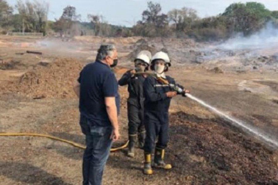 Buscan estrategia común en torno a los incendios y  la crisis ambiental