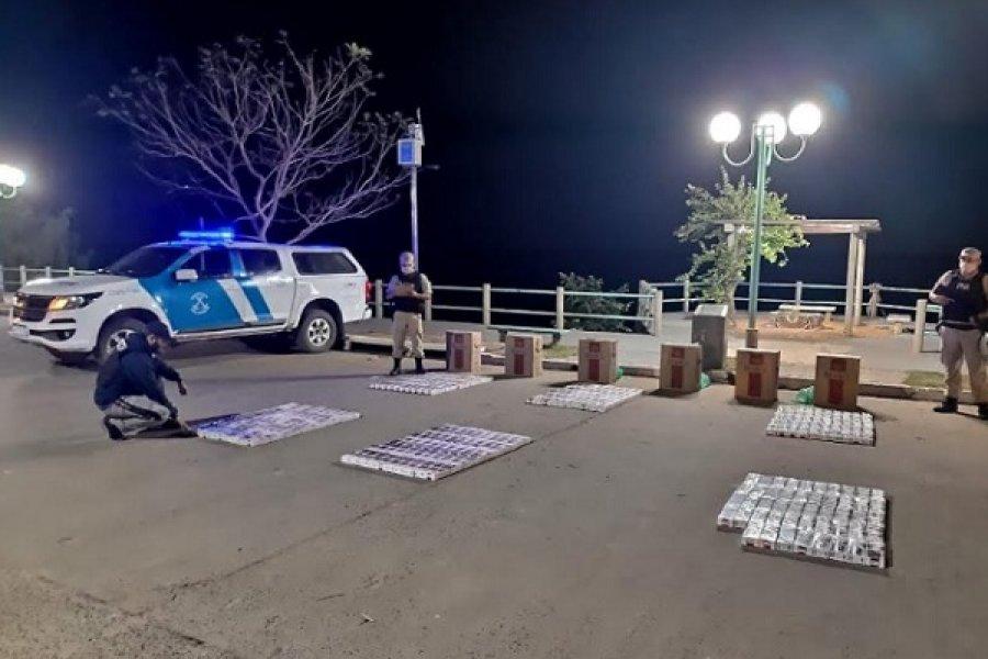 Corrientes: Secuestraron más de 2.900 atados de cigarrillos