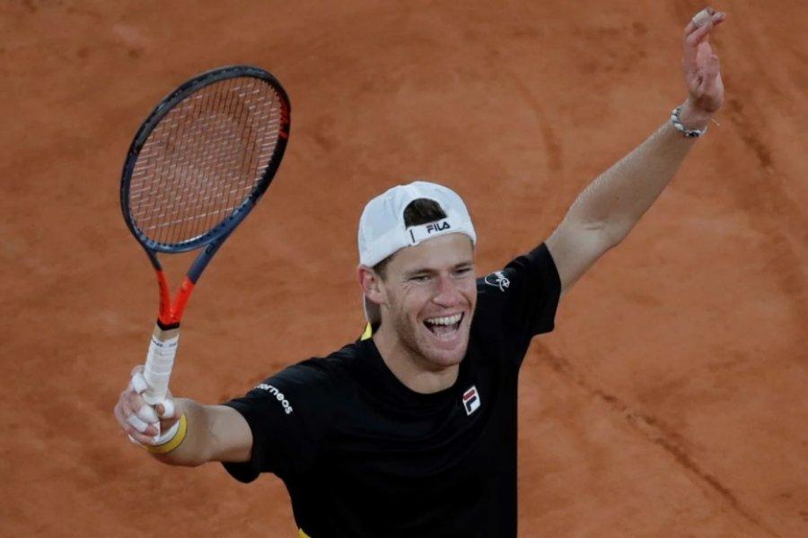 Diego Schwartzman venció a Dominic Thiem y está en semis de Roland Garros