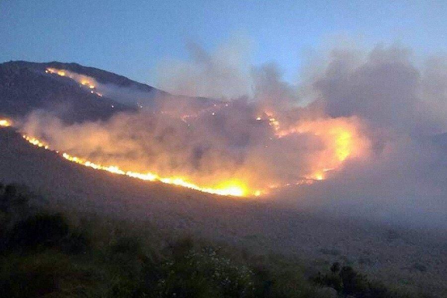 Advierten que la mayoría de los incendios son iniciados por humanos