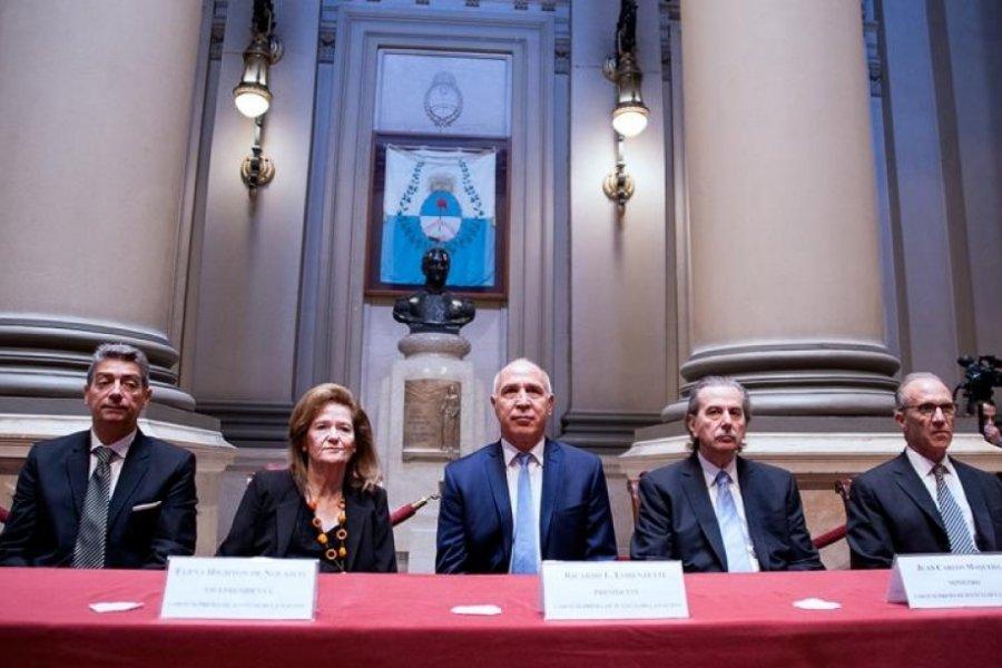 La Corte deliberó, pero no definió la situación de los jueces Bruglia, Bertuzzi y Castelli