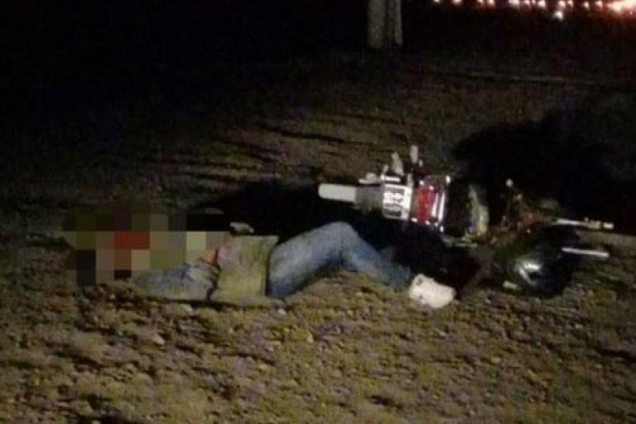 Investigan ataque a un joven tras presunto choque de motos