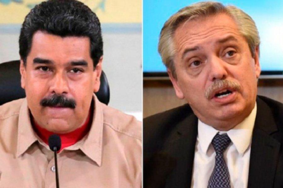 Tras las críticas del kirchnerismo duro, Alberto Fernández llamará a Maduro para explicarle la condena argentina en la ONU