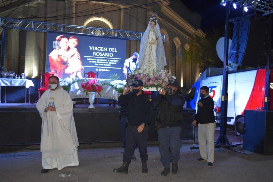 Goya honró a su Patrona la Virgen del Rosario