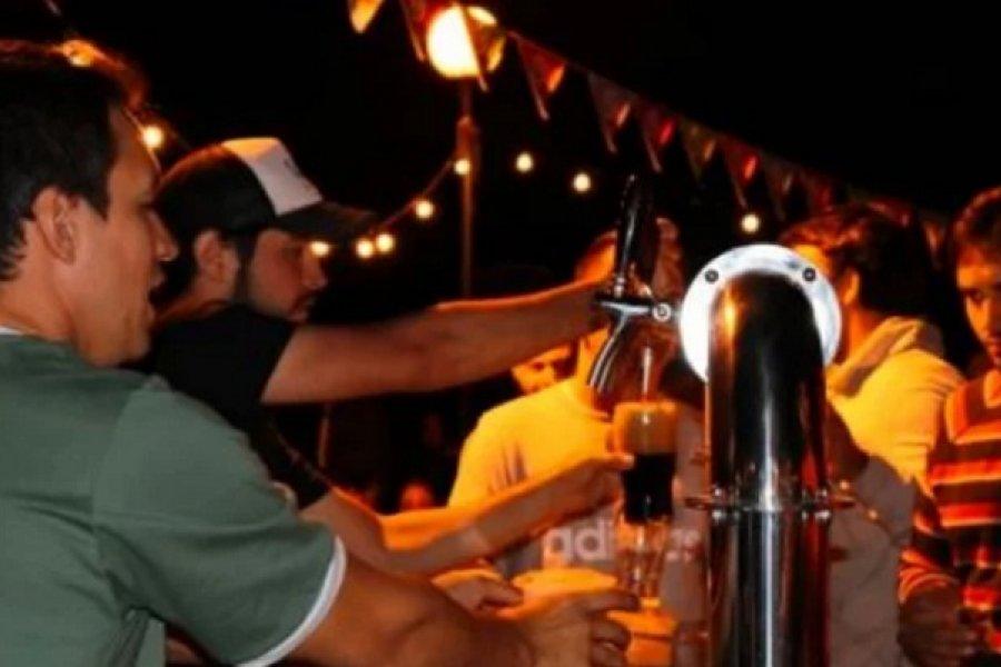 Feria de productos regionales y cerveza artesanal para llevar