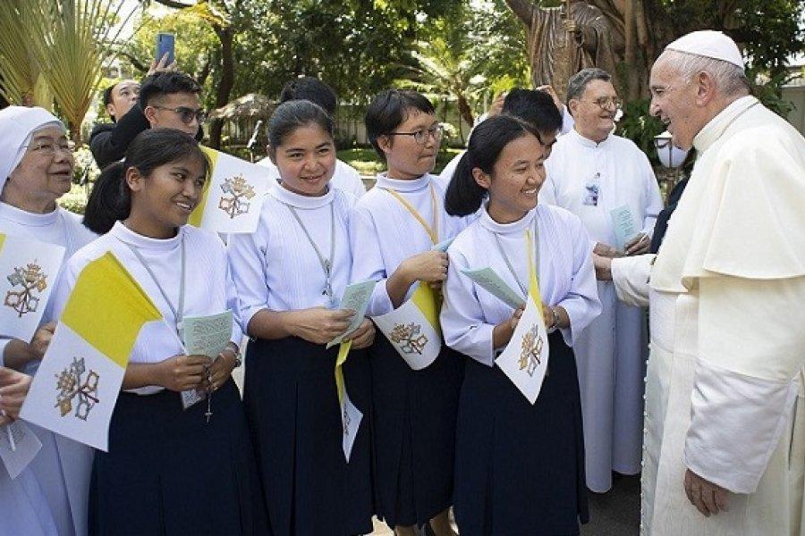 El Papa: Las mujeres protagonistas de una Iglesia en salida