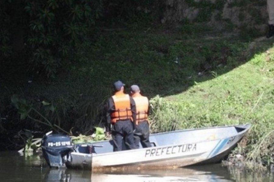 Hallaron un cuerpo flotando en el Río Santa Lucía