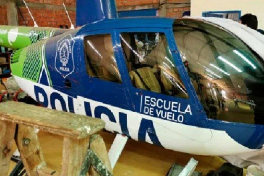 Berni confirmó que helicóptero hallado en Paraguay fue contratado por la gestión de Vidal