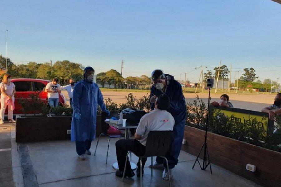 Covid: Dieron negativo los 31 hisopados en Curuzú Cuatiá