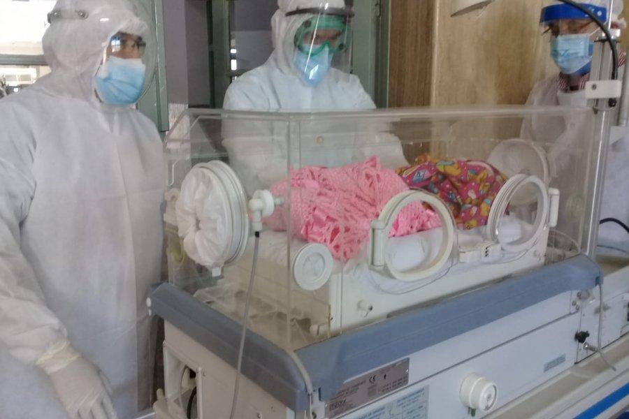 Se produjo el sexto nacimiento en el Hospital de Campaña