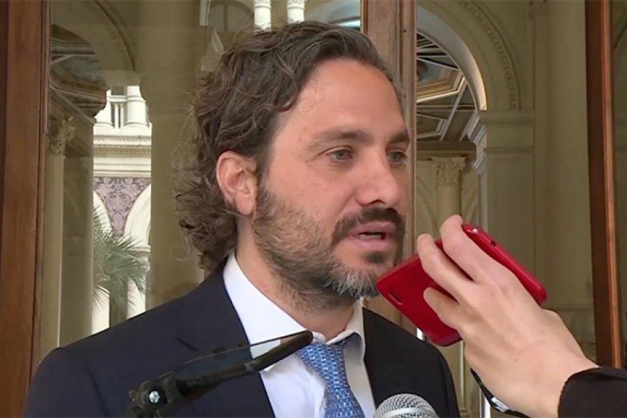 """Cafiero: un sector de la oposición """"quiere dañar"""" al Gobierno"""