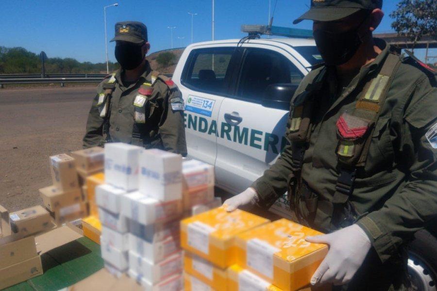 Incautaron medicamentos que iban a ser distribuidos en dos encomiendas